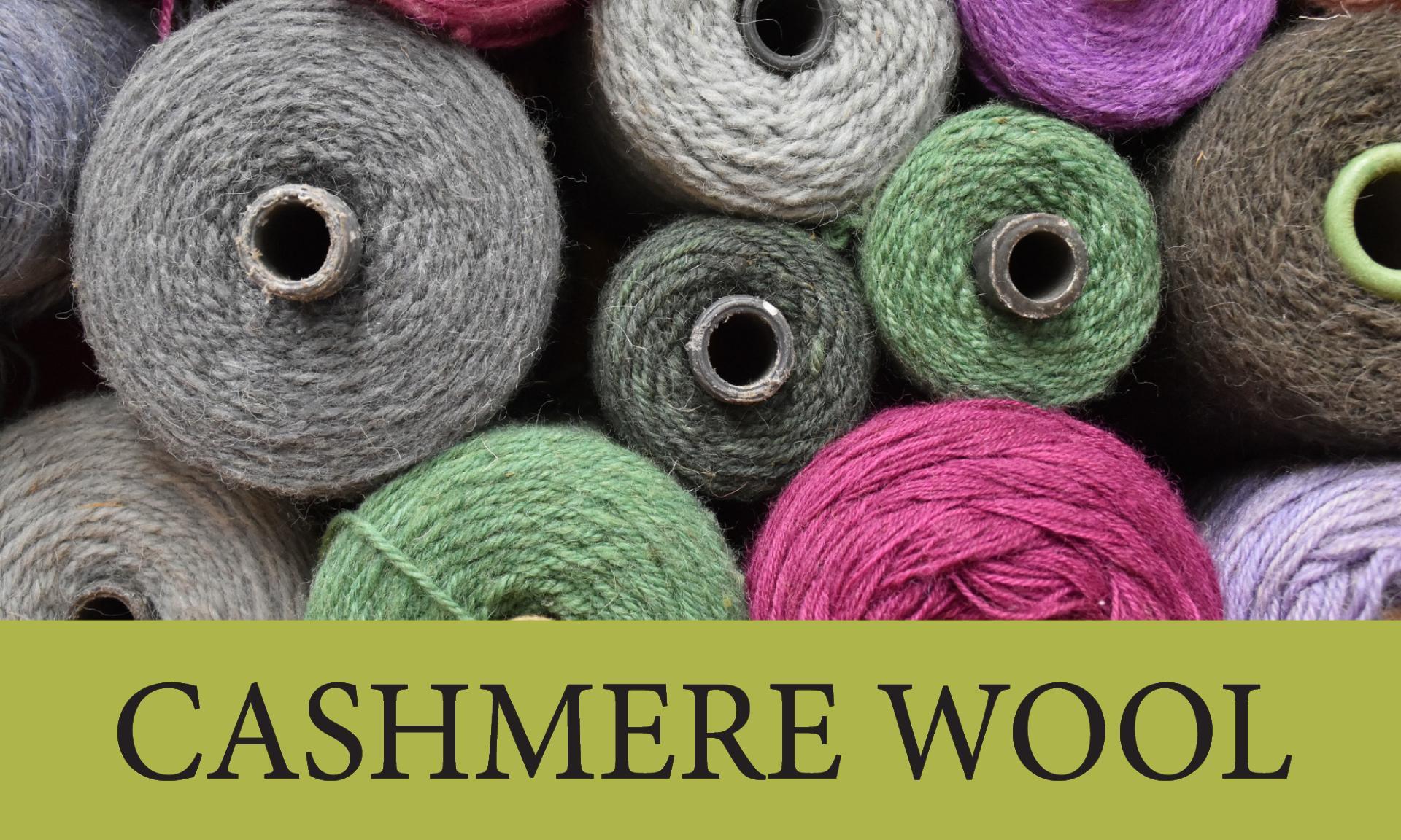Cashmere Wool Blend Yarn
